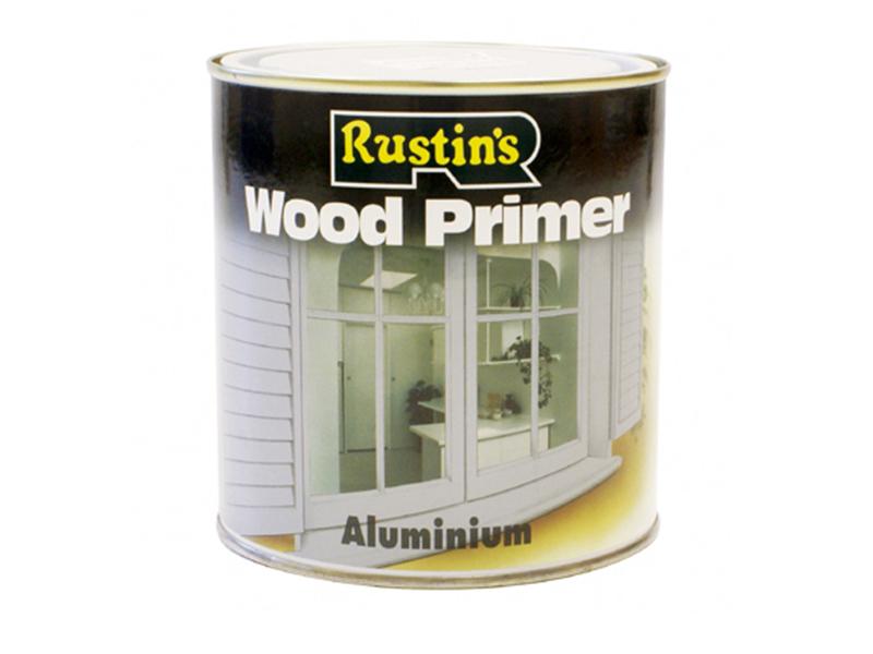 Thumbnail image of Rustins Aluminium Wood Primer 500ml