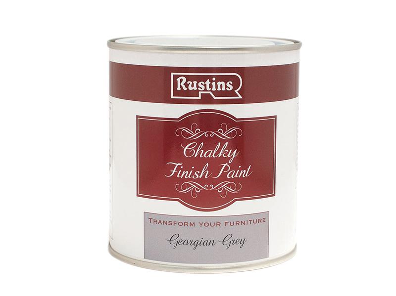 Thumbnail image of Rustins Chalky Finish Paint Georgian Grey 500ml