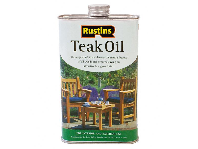 Thumbnail image of Rustins Teak Oil 500ml