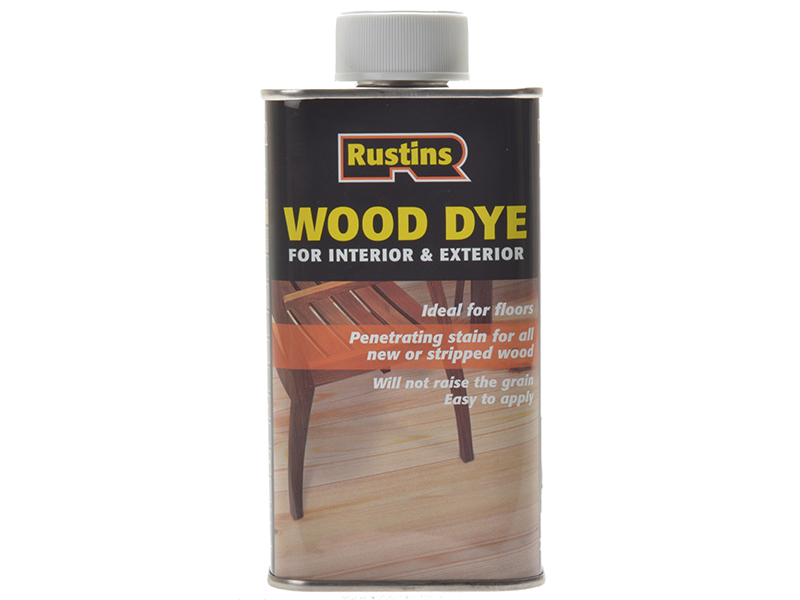 Thumbnail image of Rustins Wood Dye Red Mahogany 1 litre