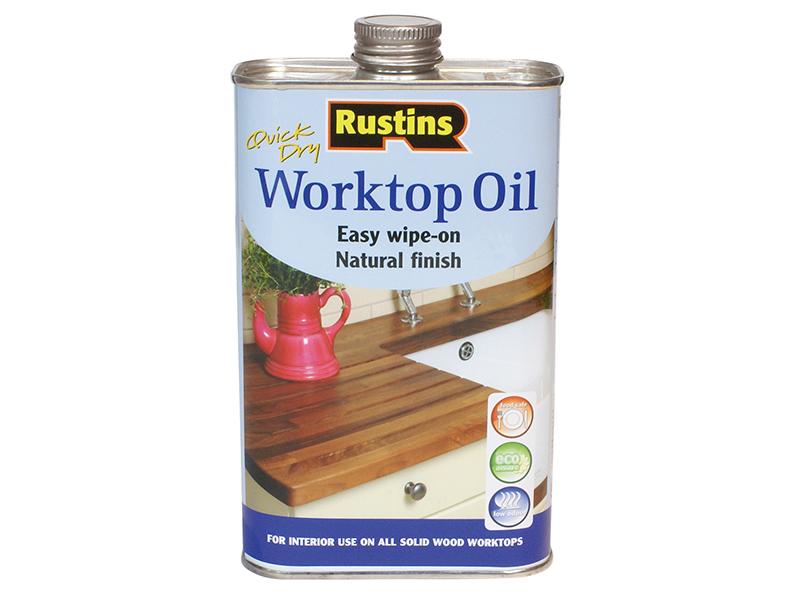 Thumbnail image of Rustins Worktop Oil 1 litre