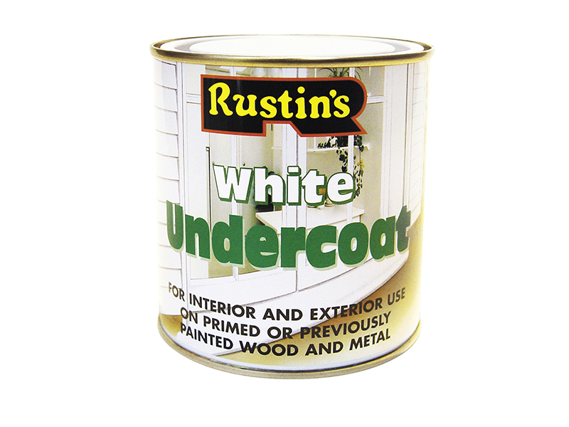 Thumbnail image of Rustins White Undercoat 1 litre