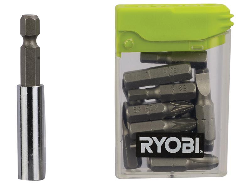 Thumbnail image of Ryobi RAK16FP Flat Pack Furniture Screwdriver Bit Set 16 Piece