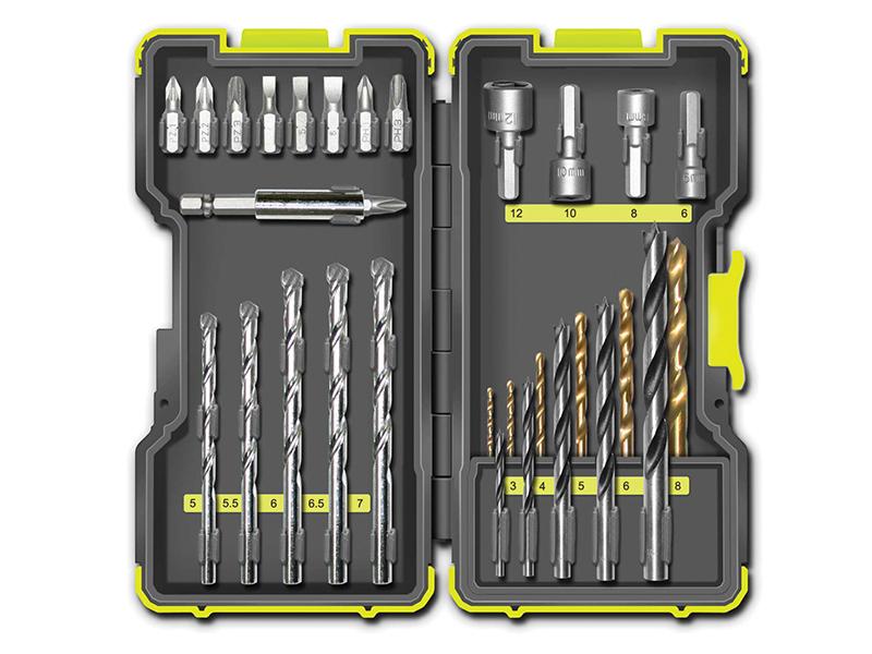 Thumbnail image of Ryobi RAK30MIX Mixed Drill & Screwdriving Set, 30 Piece