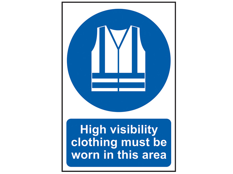 Thumbnail image of Scan High Visibility Jackets Must Be Worn In This Area - PVC 200 x 300mm