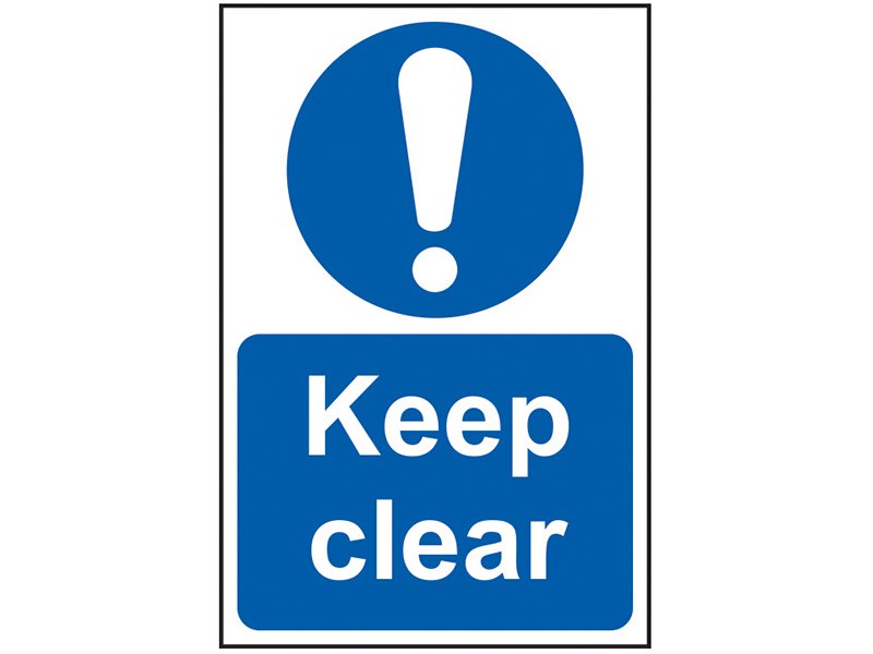 Thumbnail image of Scan Keep Clear - PVC 200 x 300mm