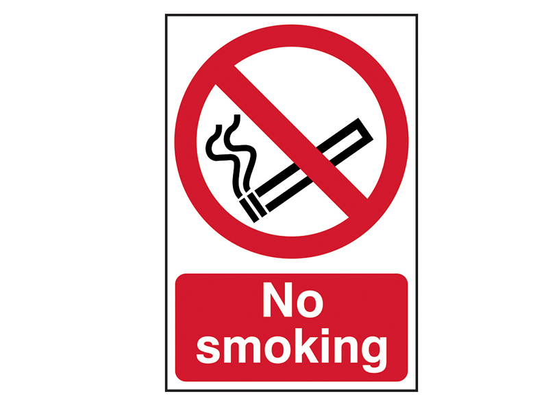 Thumbnail image of Scan No Smoking - PVC 200 x 300mm