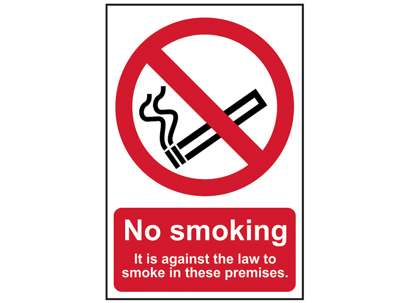 Thumbnail image of Scan No Smoking It Is Against The Law To Smoke In These Premises - PVC 200 x 300mm