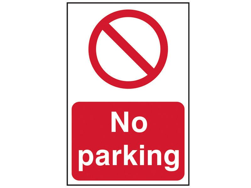 Thumbnail image of Scan No Parking - PVC 200 x 300mm