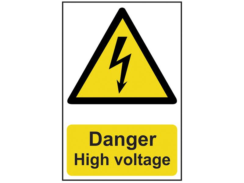 Thumbnail image of Scan Danger High Voltage - PVC 200 x 300mm