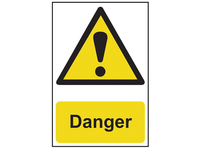 Thumbnail image of Scan Danger - PVC 200 x 300mm