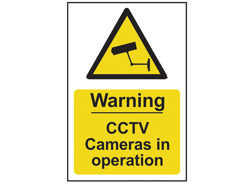 Thumbnail image of Scan Warning CCTV Cameras in Operation - PVC 200 x 300mm
