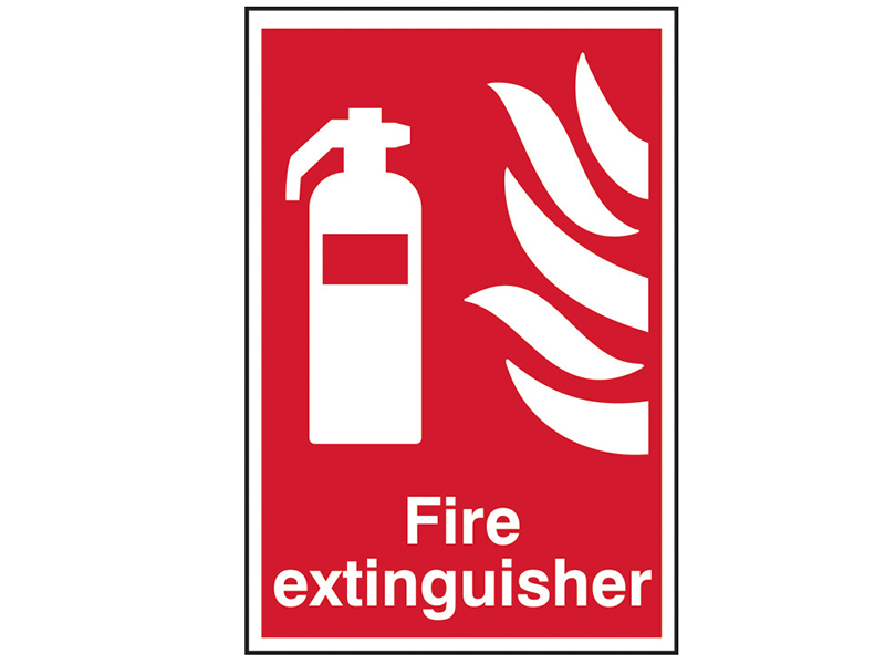 Thumbnail image of Scan Fire Extinguisher - PVC 200 x 300mm