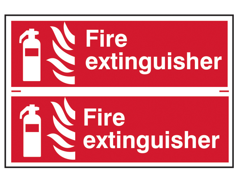 Thumbnail image of Scan Fire Extinguisher - PVC 300 x 100mm