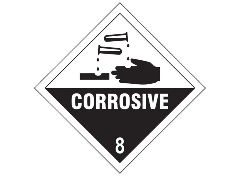 Thumbnail image of Scan Corrosive 8 SAV - 100 x 100mm