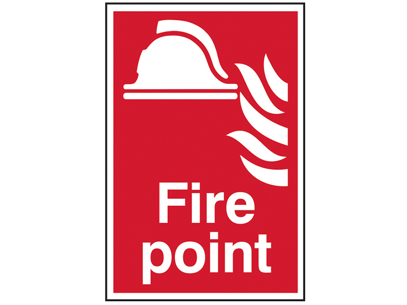 Thumbnail image of Scan Fire Point - PVC 200 x 300mm