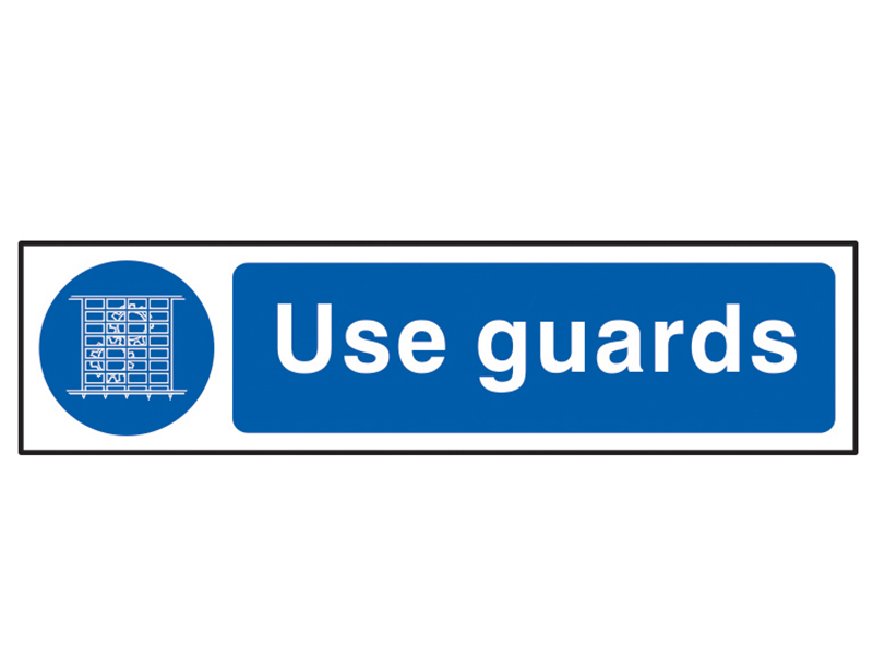 Thumbnail image of Scan Use Guards - PVC 200 x 50mm