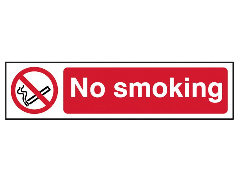 Thumbnail image of Scan No Smoking - PVC 200 x 50mm