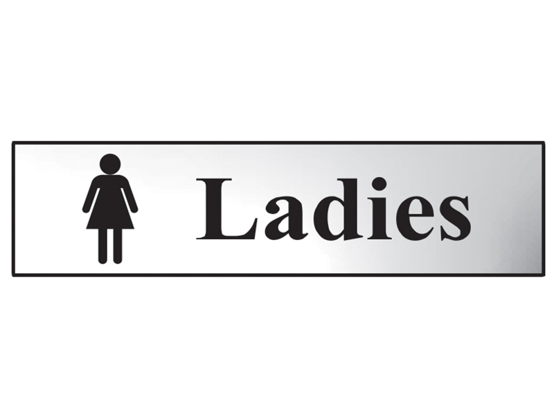 Thumbnail image of Scan Ladies - Polished Brass Effect 200 x 50mm