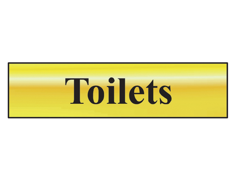 Thumbnail image of Scan Toilets - Polished Brass Effect 200 x 50mm