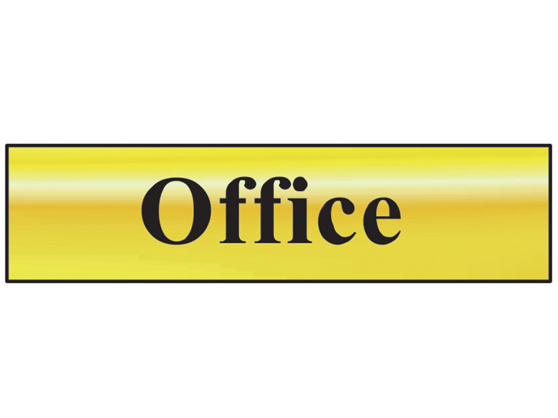 Thumbnail image of Scan Office - Polished Brass Effect 200 x 50mm