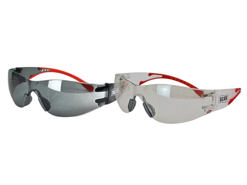Thumbnail image of Scan Flexi Spectacles Clear and Smoke (Twin Pack)