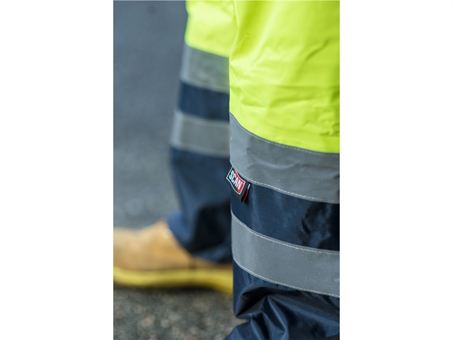 Thumbnail image of Scan Hi-Vis Yellow Motorway Trousers - XL (44in)
