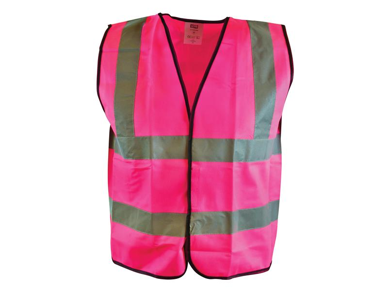 Thumbnail image of Scan Hi-Vis Yellow Waistcoat - XL (48in)
