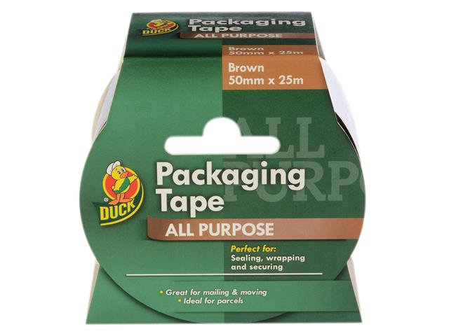 Thumbnail image of Shurtape Duck Tape® Packaging Tape 50mm x 25m Brown
