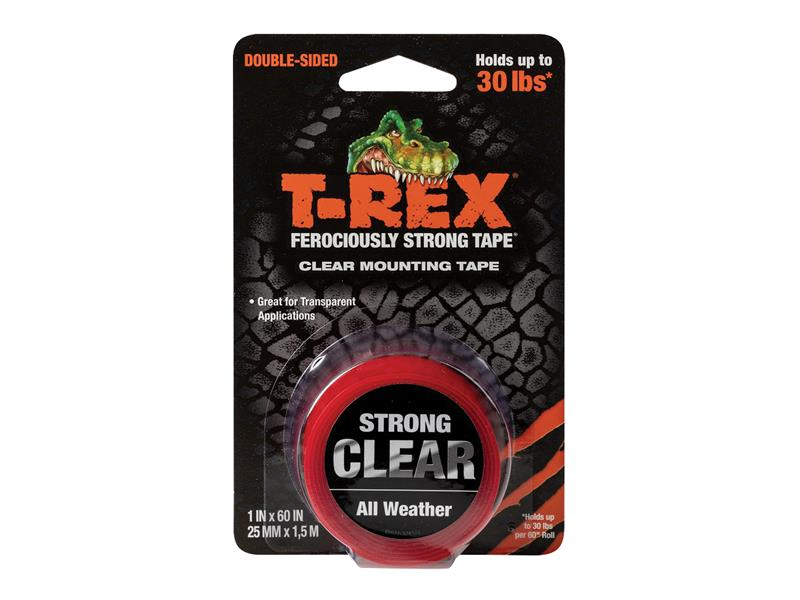 Thumbnail image of Shurtape T-REX® Clear Mounting Tape 25mm x 1.5m