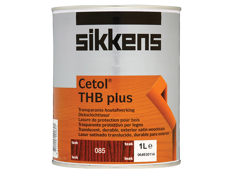 Thumbnail image of Sikkens Cetol THB Plus Translucent Woodstain Teak 1 litre