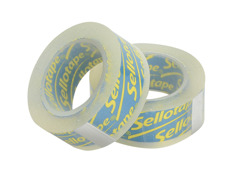 Thumbnail image of Sellotape Sellotape On-Hand Refill 18mm x 15m Clear (Pack 2)