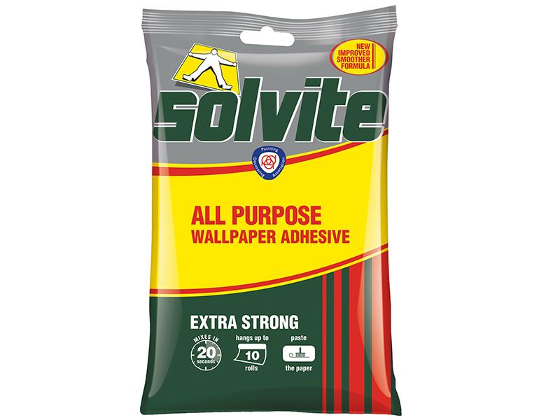 Thumbnail image of Solvite All Purpose Wallpaper Paste Sachet 5 Roll