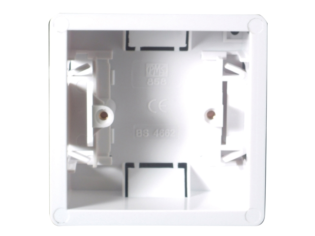 Thumbnail image of SMJ Dry Lining Box Single 35mm with Eurohook
