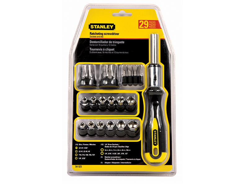 Thumbnail image of STANLEY Ratchet Screwdriver Set of 29