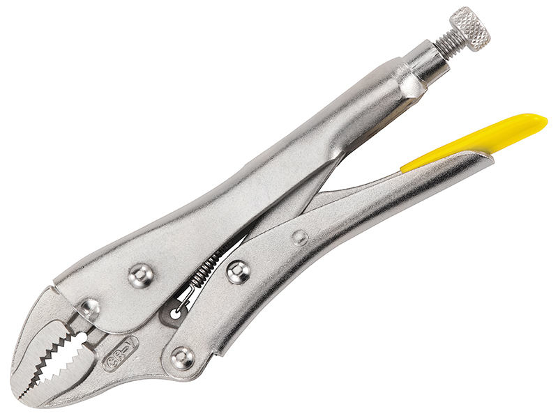 Thumbnail image of Stanley Curved Jaw Locking Pliers 178mm (7in)