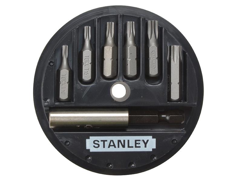 Thumbnail image of Stanley TORX Insert Bit Set, 7 Piece