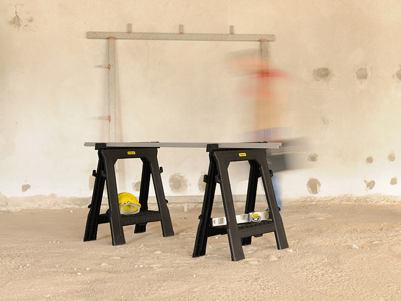Thumbnail image of Stanley Folding Sawhorses (Twin Pack)
