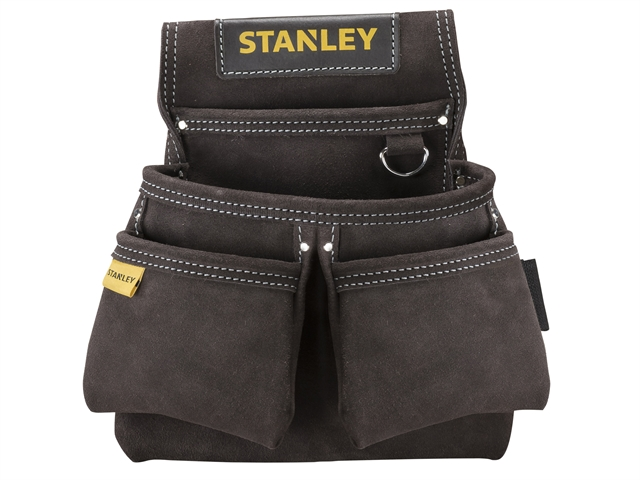 Thumbnail image of Stanley STST1-80116 Leather Double Nail Pocket Pouch
