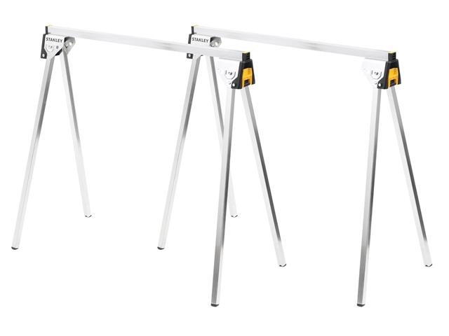 Thumbnail image of Stanley Essential Metal Sawhorses (Twin Pack)