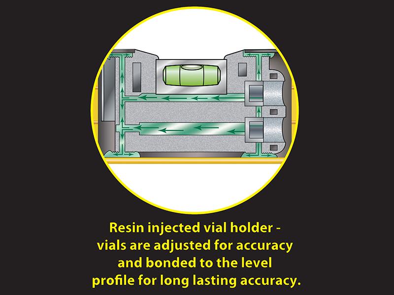 Thumbnail image of Stabila 70-60 Single Plumb Spirit Level 2 Vial 60cm