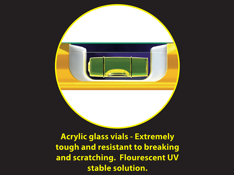 Thumbnail image of Stabila 70-90 Single Plumb Spirit Level 2 Vial 90cm