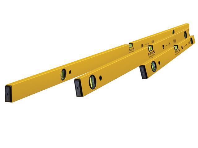 Thumbnail image of Stabila 70-2 Double Plumb Spirit Level Pack 60cm, 120cm & 180cm