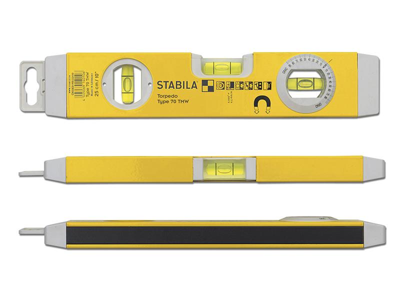 Thumbnail image of Stabila 70TM Torpedo Level 22cm Magnetic Base