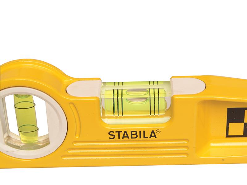 Thumbnail image of Stabila 81 SV REM W360 Rare Earth Magnetic Torpedo Level 25cm Rotating