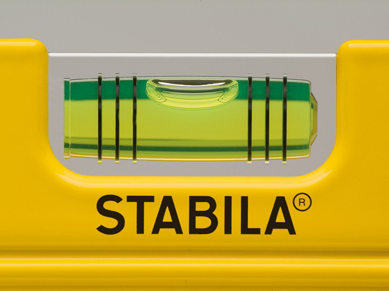 Thumbnail image of Stabila 81 SV REM W45 Rare Earth Magnetic Torpedo Level 25cm Fixed