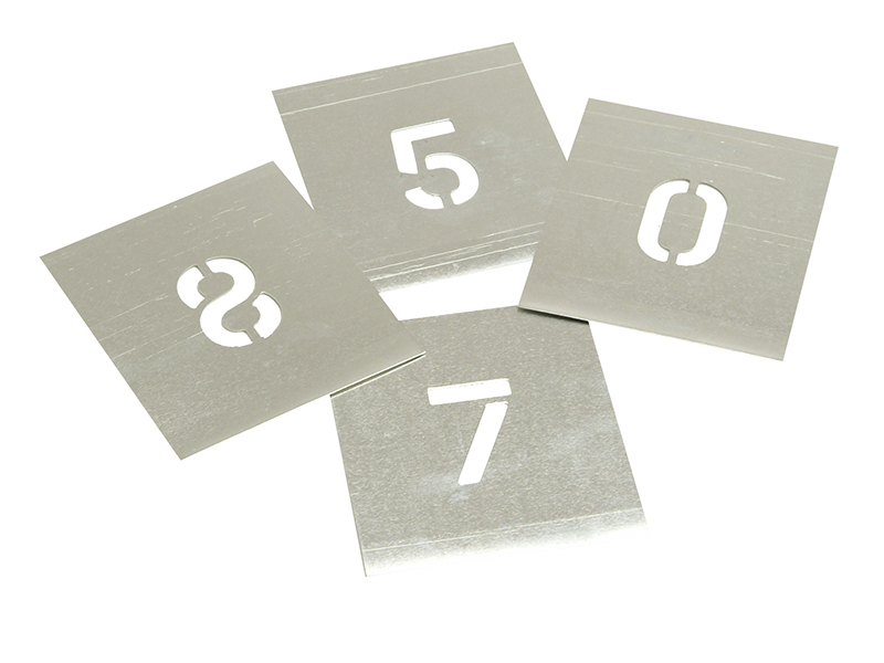 Thumbnail image of Stencils Set of Zinc Stencils - Figures 1in