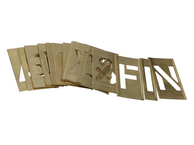 Thumbnail image of Stencils Set of Brass Interlocking Stencils - Figures 1in