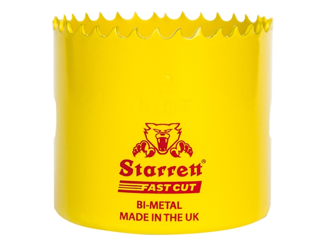 Thumbnail image of Starrett FCH0314 Fast Cut Bi-Metal Holesaw 83mm