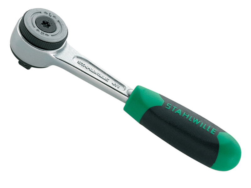 Thumbnail image of Stahlwille Ratchet 1/4in Drive Fine 60 Teeth